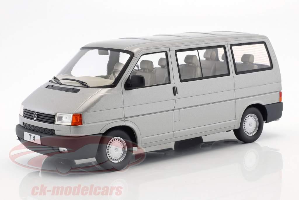 Volkswagen VW T4 bus Caravelle year 1992 grey metallic 1:18 KK-Scale