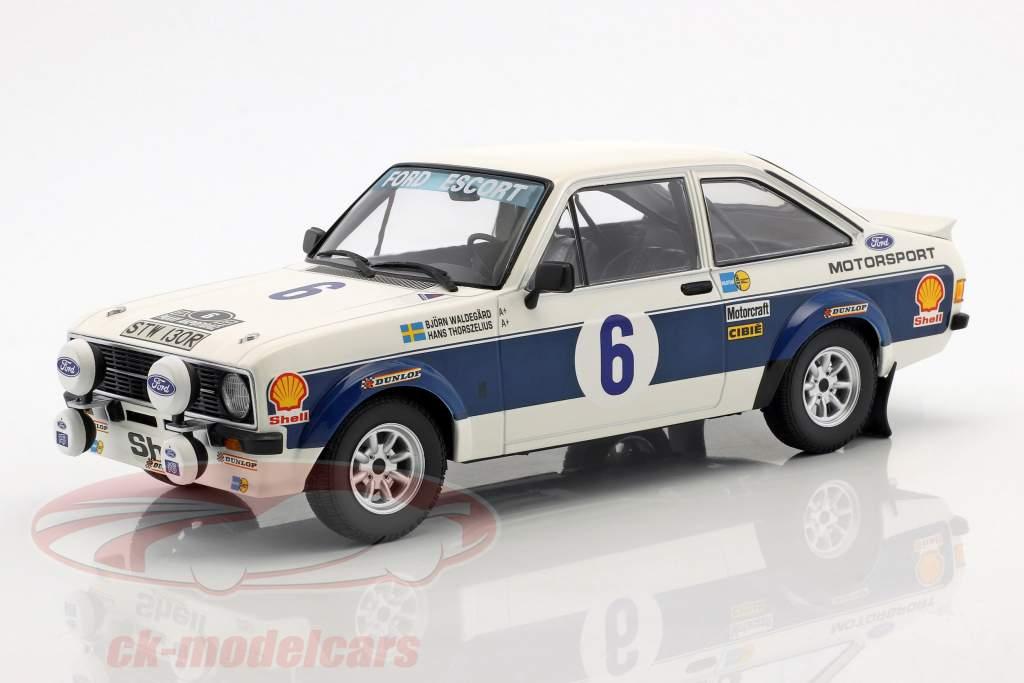 Ford Escort RS 1800 #6 winnaar Rallye acropolis 1977 Waldegaard, Thorszelius 1:18 Minichamps