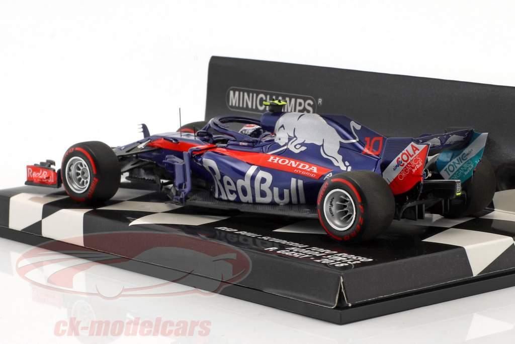 Pierre Gasly Scuderia Toro Rosso STR13 #10 formule 1 2018 1:43 Minichamps