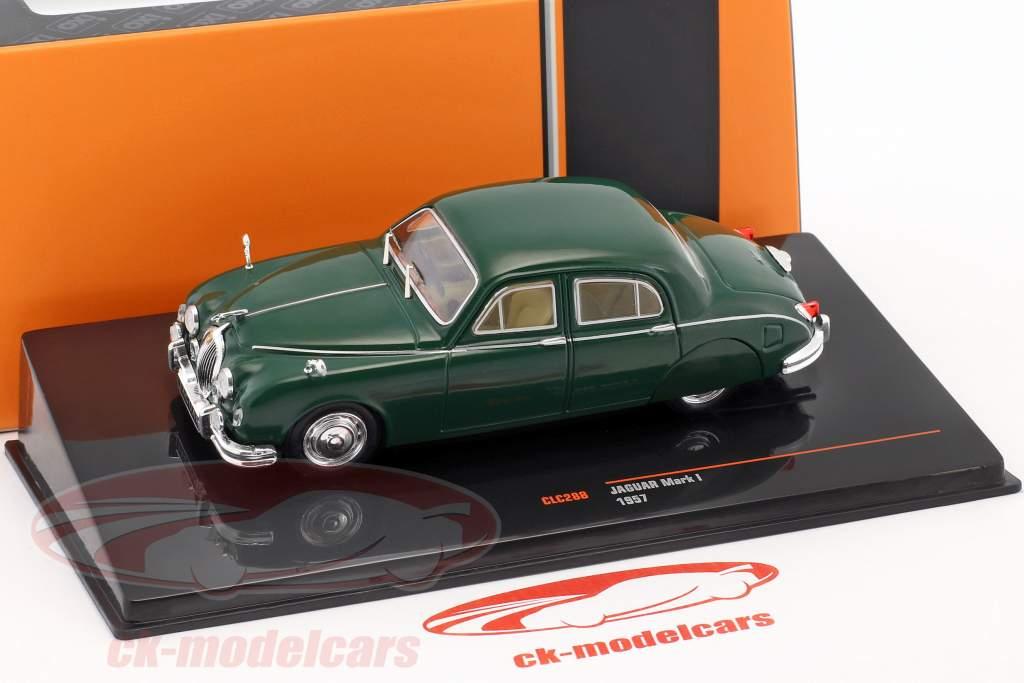 Jaguar Mark I Baujahr 1957 dunkelgrün 1:43 Ixo
