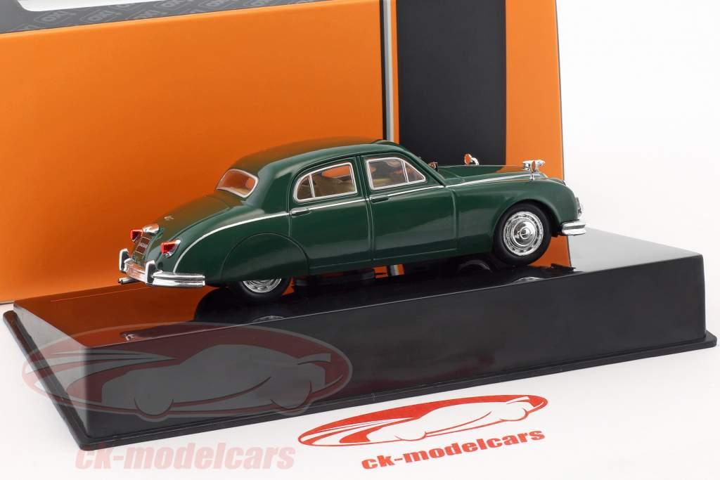 Jaguar Mark I Opførselsår 1957 mørkegrøn 1:43 Ixo