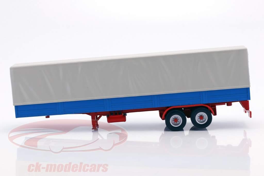 Trailer Truck com encerado azul / cinza 1:43 Ixo