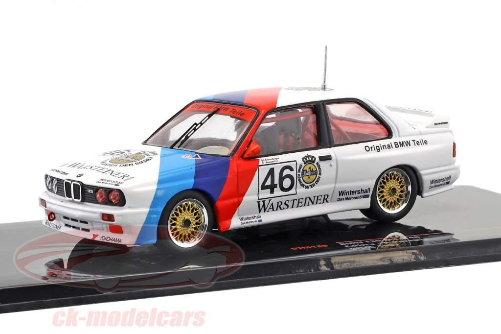 BMW M3 (E30) #46 WTCC 1987 Ravaglia, Pirro 1:43 Ixo
