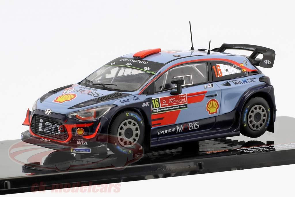 Hyundai i20 WRC #16  4ª Rallye Portugal 2018 Sordo, del Barrio 1:43 Ixo