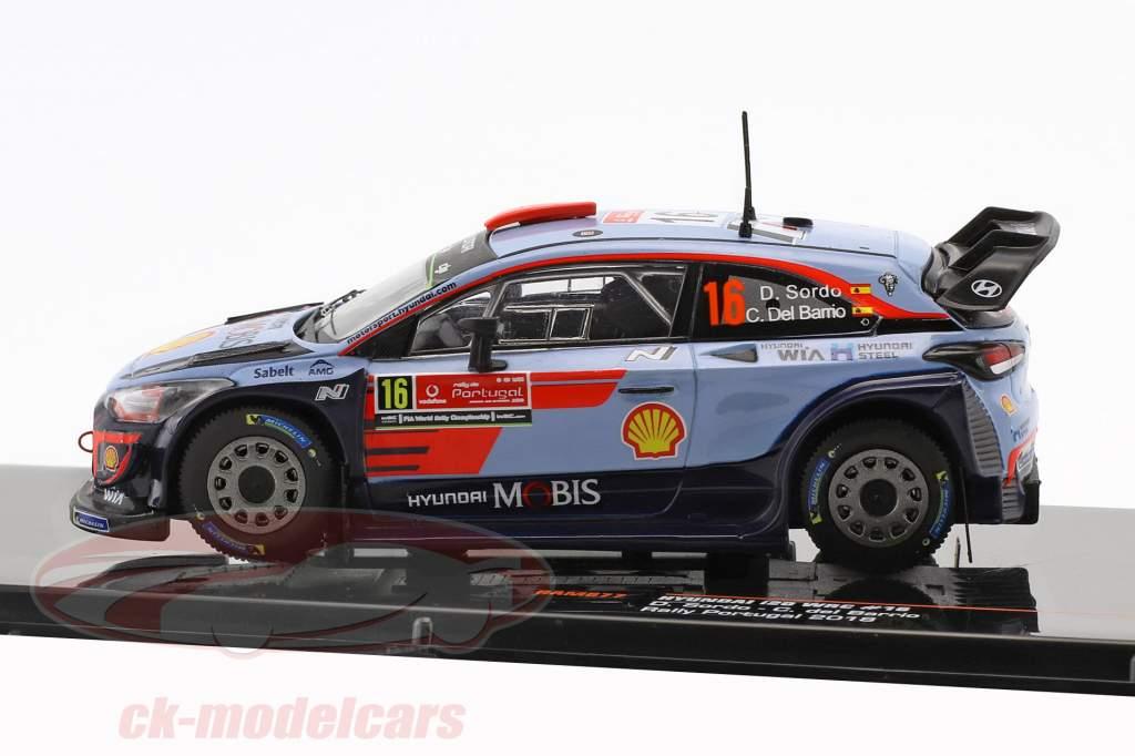 Hyundai i20 WRC #16  cuarto Rallye Portugal 2018 Sordo, del Barrio 1:43 Ixo