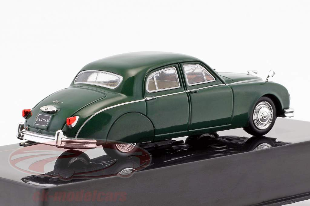 Jaguar Mark I  year 1957 dark green 1:43 Ixo