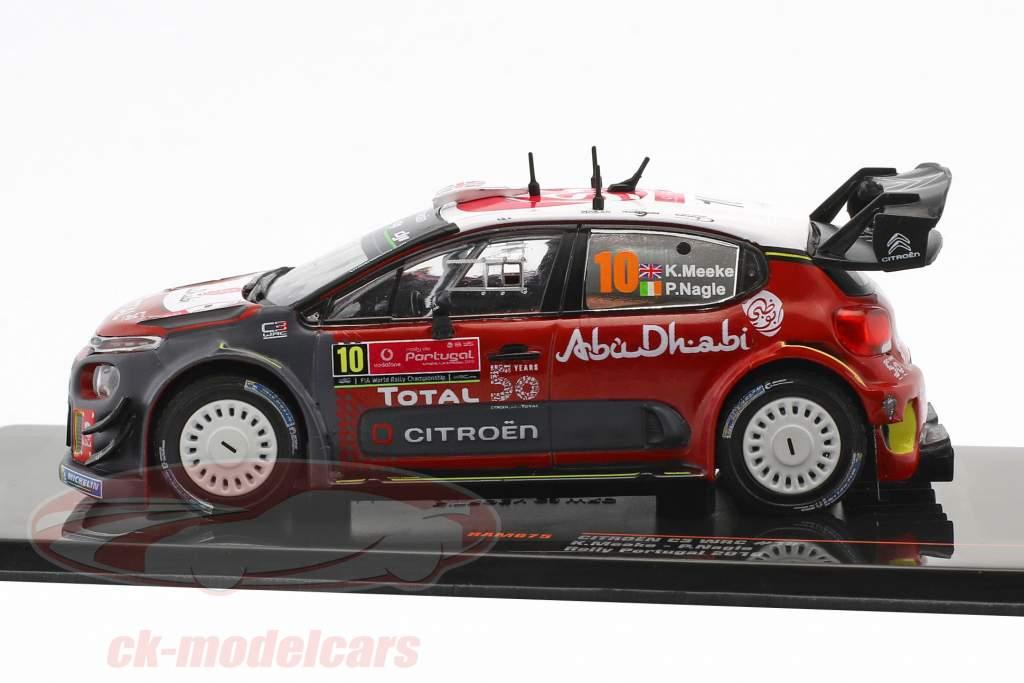 Citroen C3 WRC #10 Rallye Portugal 2018 Meeke, Nagle 1:43 Ixo