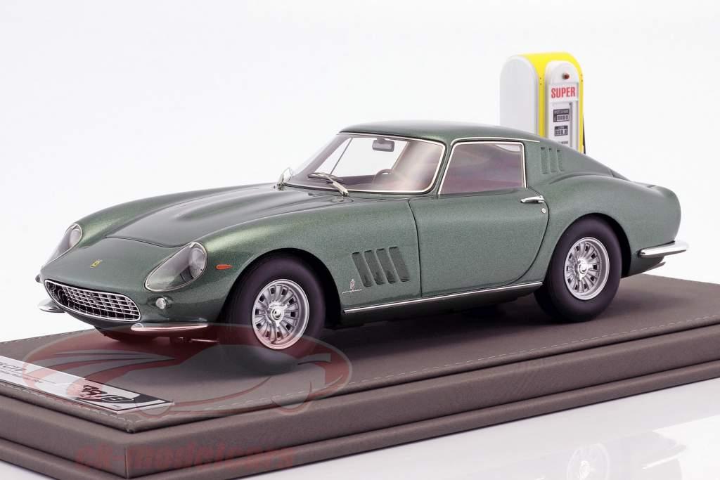 Ferrari 275 GTB Opførselsår 1964 Personal Car Battista Pininfarina med udstillingsvindue og Læder Box 1:18 BBR