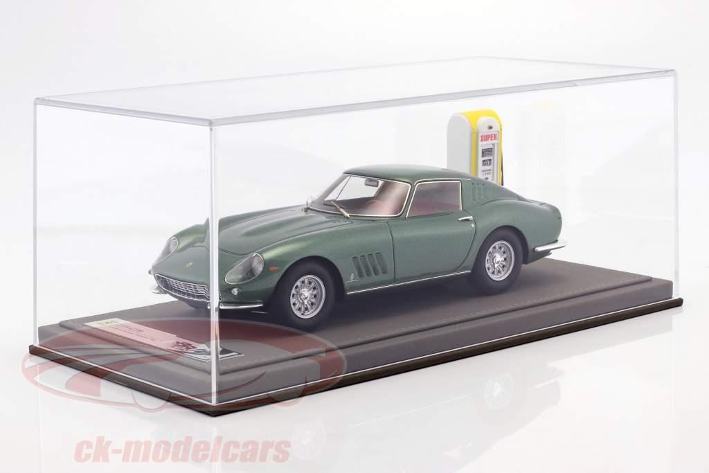 Ferrari 275 GTB Bouwjaar 1964 Personal Car Battista Pininfarina met vitrine en Leer Box 1:18 BBR