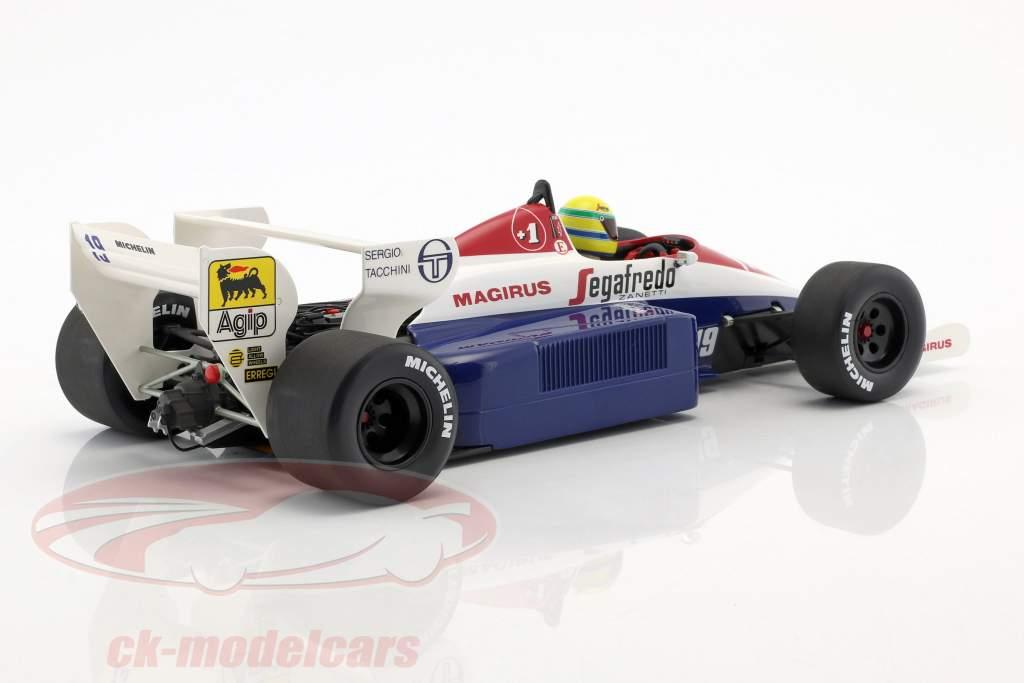 Ayrton Senna Toleman TG184 #19 fórmula 1 1984 1:18 Minichamps
