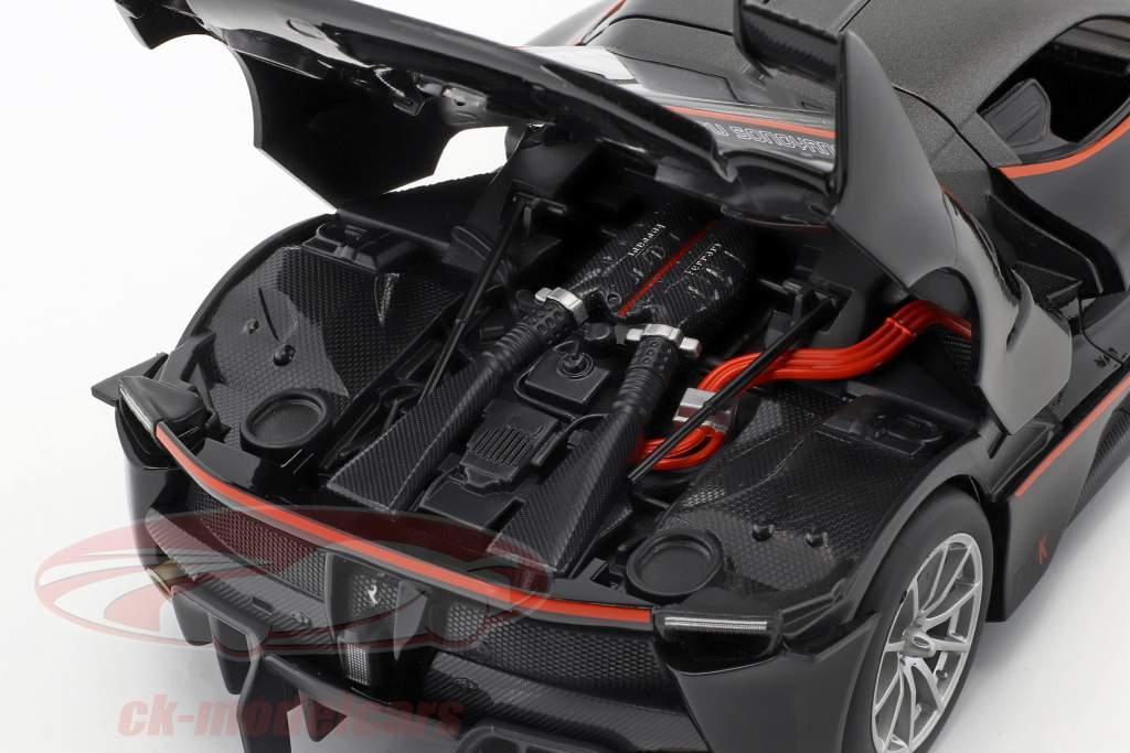 Ferrari FXX-K #5 zwart / rood 1:18 Bburago