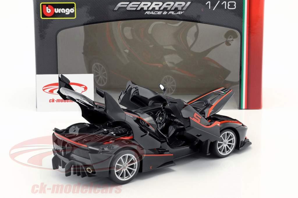 Ferrari FXX-K #5 nero / rosso 1:18 Bburago