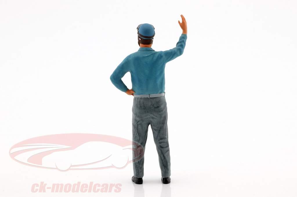 Alberto Ascari bestuurder figuur 1:18 FigurenManufaktur
