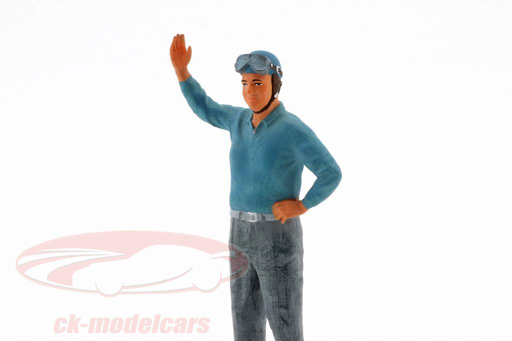 Alberto Ascari autista cifra 1:18 FigurenManufaktur