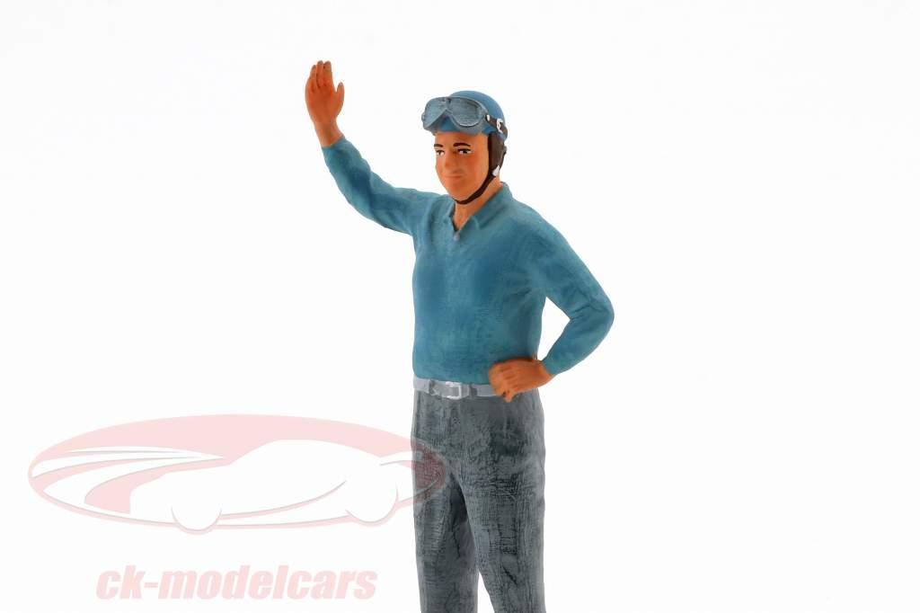 Alberto Ascari condutor figura 1:18 FigurenManufaktur