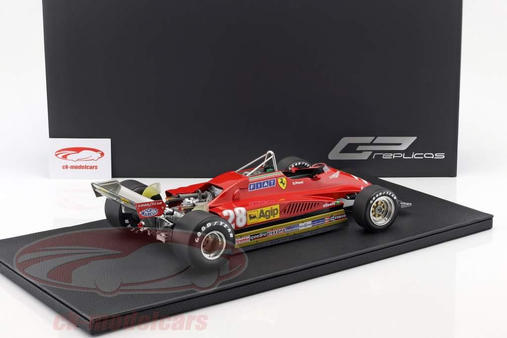 Didier Pironi Ferrari 126 C2 #28 fórmula 1 1982 1:12 GP Replicas