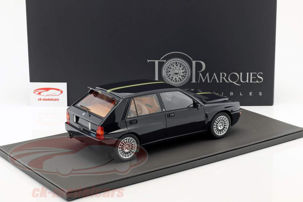 Lancia Delta Integrale Evolution II Club HF Bouwjaar 1995 zwart 1:12 TopMarques