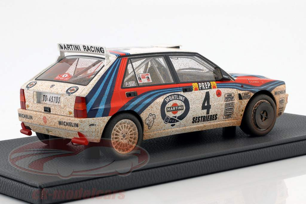 Lancia Delta HF Integrale #4 Vinder Rallye Monte Carlo 1992 Dirty Version 1:18 TopMarques