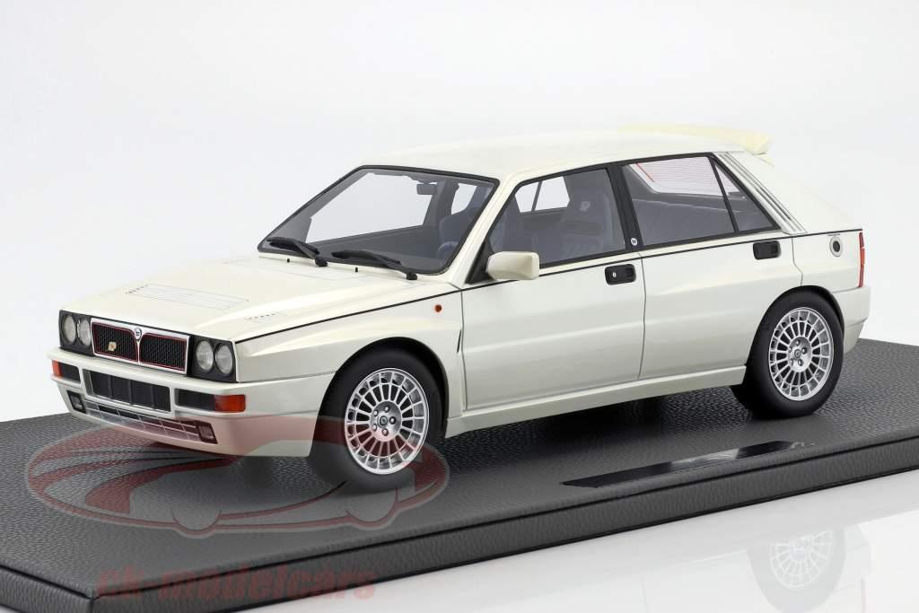 Lancia Delta Integrale Evolution II ano de construção 1995 branco pérola 1:12 TopMarques