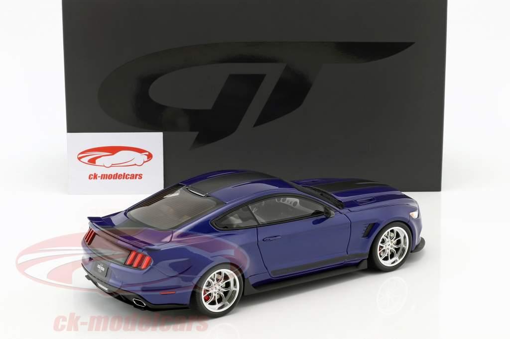 Ford Shelby GT-350 Widebody year 2017 dark blue 1:18 GT-Spirit