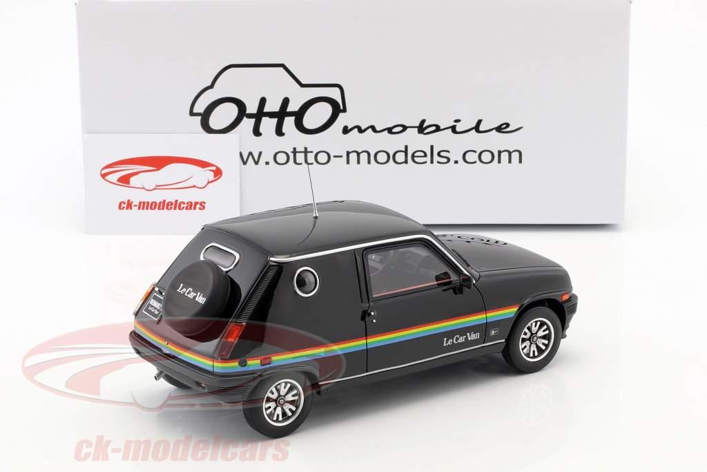 Renault 5 Le Car Van ano de construção 1980 preto 1:18 OttOmobile