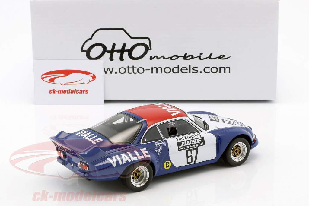 Alpine A110 #67 groep 5 Rallye Cross 1977 team Vialle 1:18 OttOmobile
