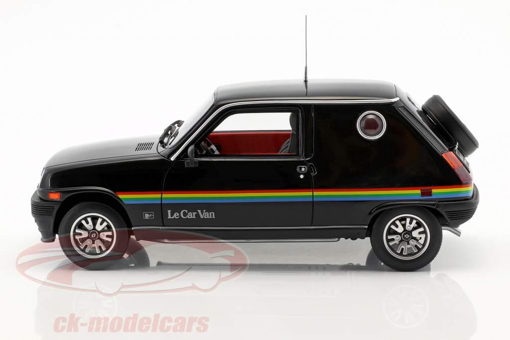 Renault 5 Le Car Van Bouwjaar 1980 zwart 1:18 OttOmobile