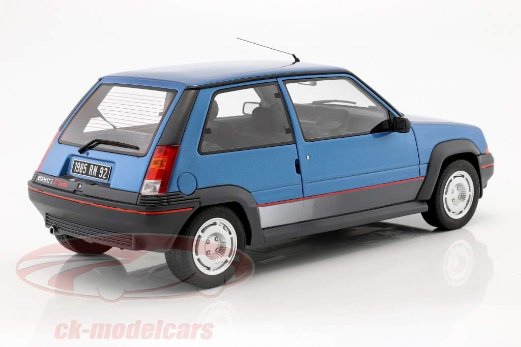 Renault Super 5 GT Turbo MK1 Bouwjaar 1986 lichtblauw 1:12 OttOmobile