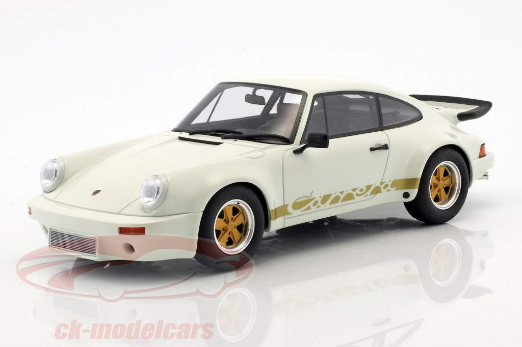 Porsche 911 3.0 RS anno di costruzione 1974 grand prix bianco 1:18 GT-Spirit