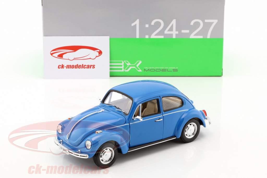 Volkswagen VW Beetle Year 1959 blue 1:24 Welly