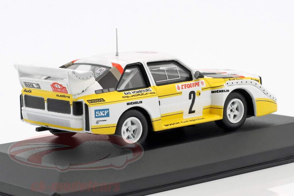 Audi Quattro Sport E2 #2 4th Rallye Monte Carlo 1986 Röhrl, Geistdörfer 1:43 CMR