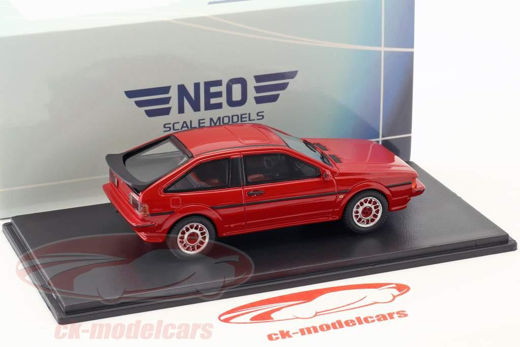 Volkswagen VW Scirocco II Scala year 1986 red 1:43 Neo