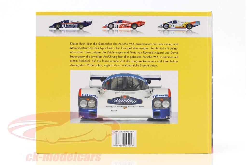 Libro: Porsche 956 Il A lunga distanza Campione da Reynald Hezard / D. Legangneux