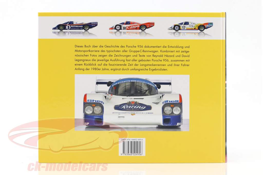 Livre: Porsche 956 Le Interurbain Champion à partir de Reynald Hezard / D. Legangneux