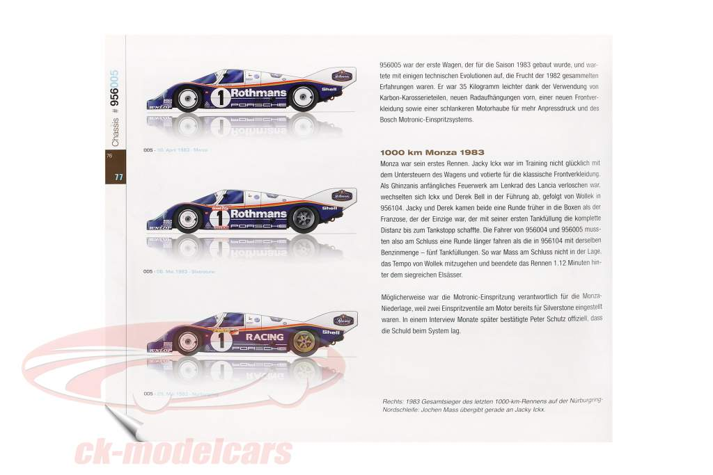 Livro: Porsche 956 O Interurbano Campeão a partir de Reynald Hezard / D. Legangneux