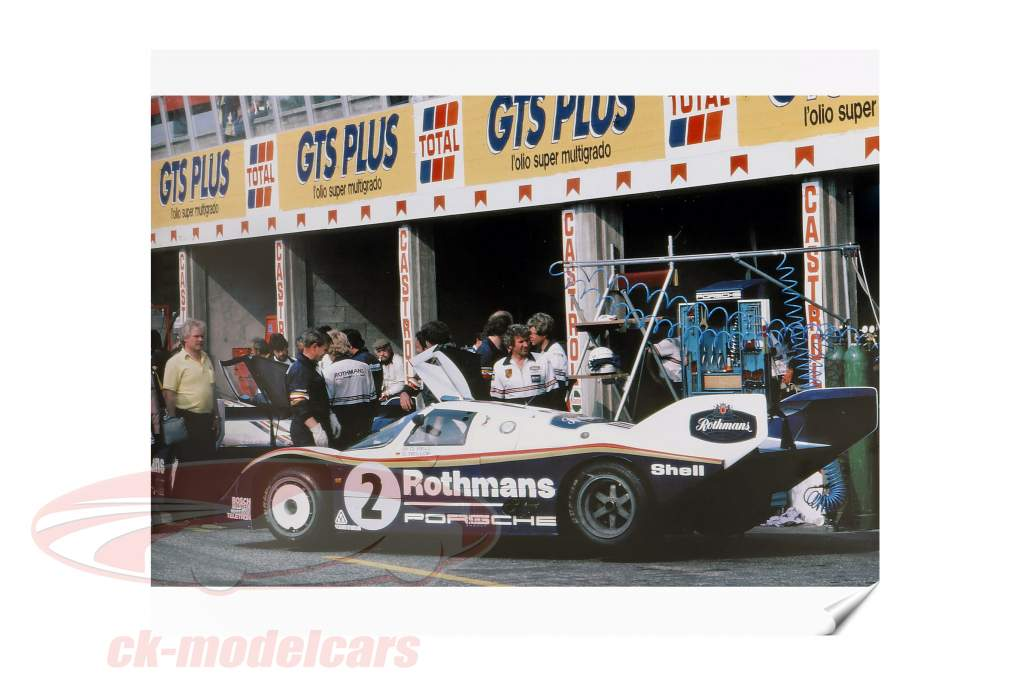 Bog: Porsche 956 Den Lange afstande Champion fra Reynald Hezard / D. Legangneux