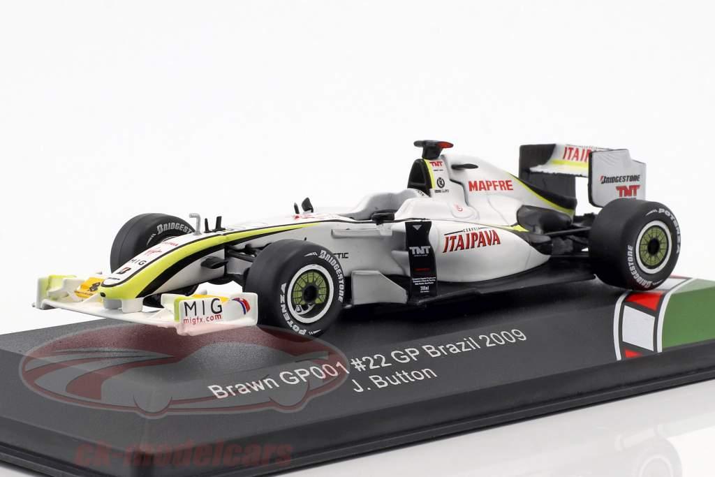 Jenson Button Brawn BGP 001 #22 Brasilien GP verdensmester F1 2009 1:43 CMR