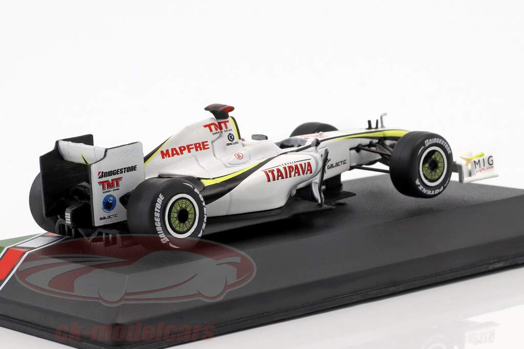 Jenson Button Brawn BGP 001 #22 Brazilië GP wereldkampioen F1 2009 1:43 CMR