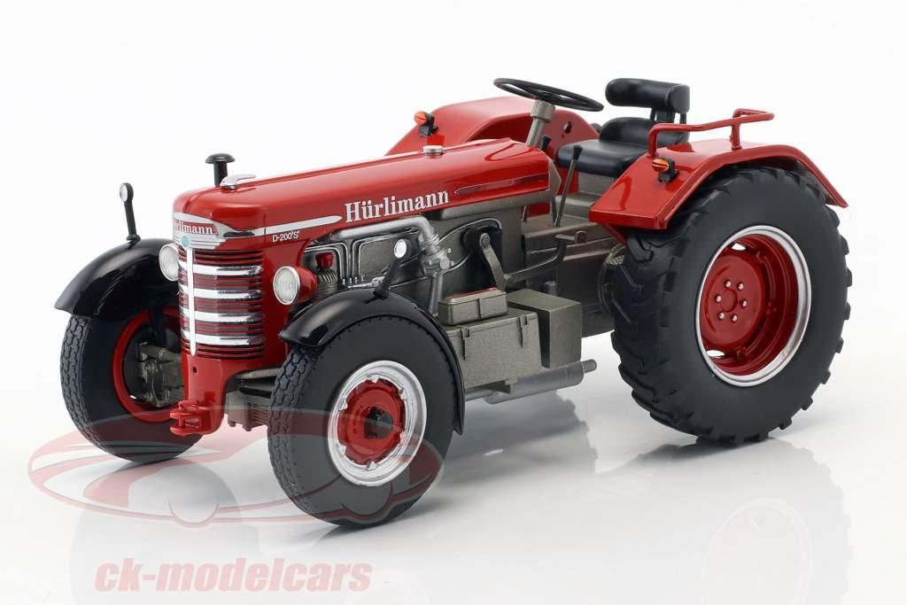 Hürlimann D 200 S vermelho 1:32 Schuco