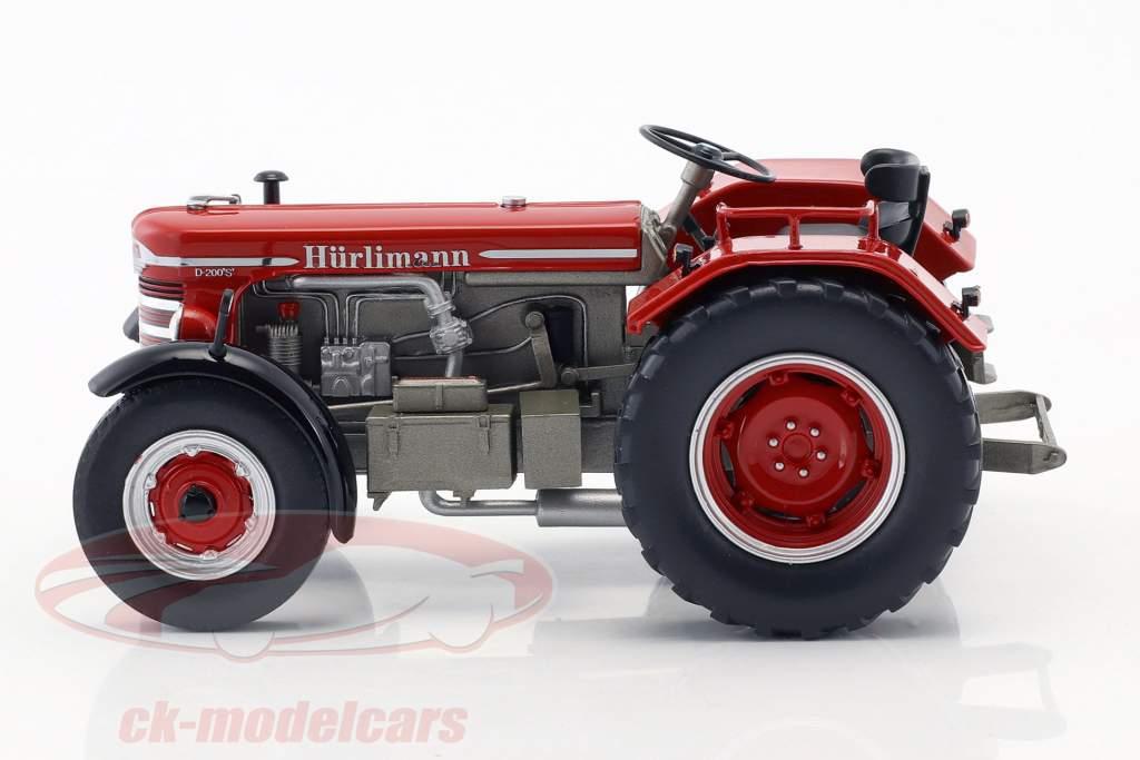 Hürlimann D 200 S rojo 1:32 Schuco