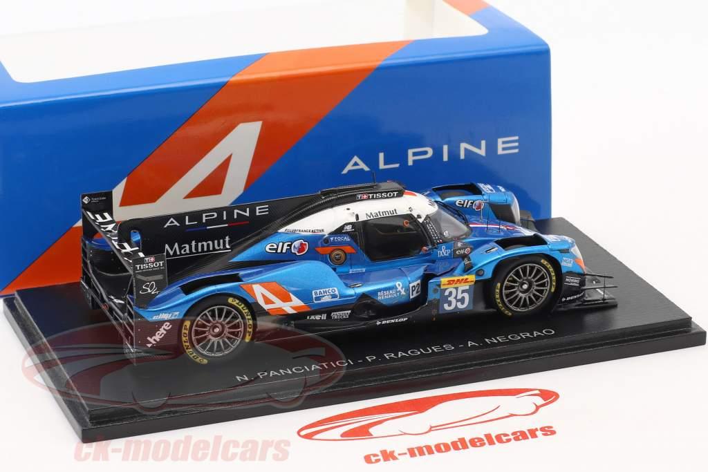 Alpine A470 #35 4. 24h LeMans 2017 Panciatici, Ragues, Negrao 1:43 Spark