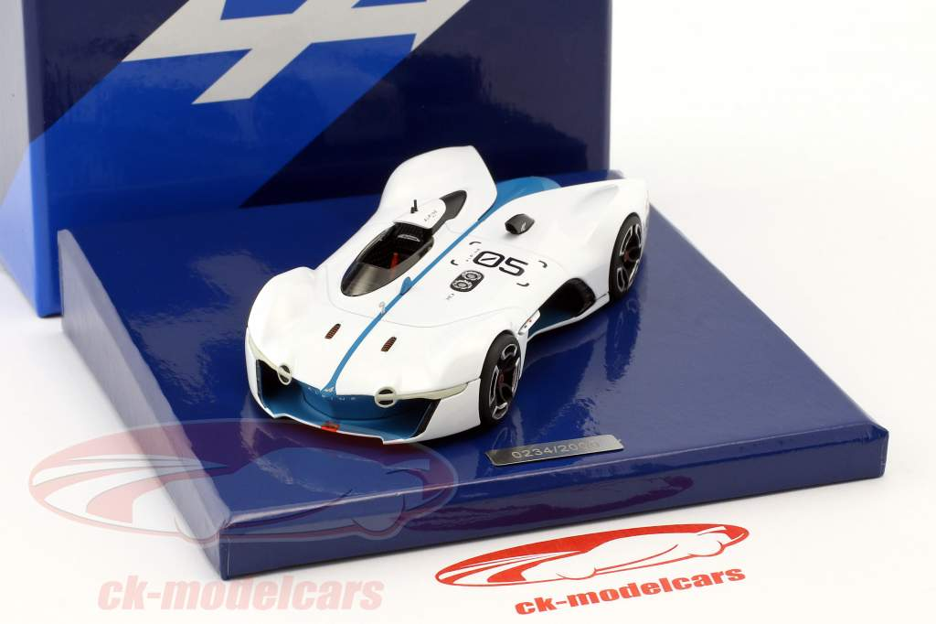 Alpine Vision Gran Turismo branco / azul 1:43 Norev