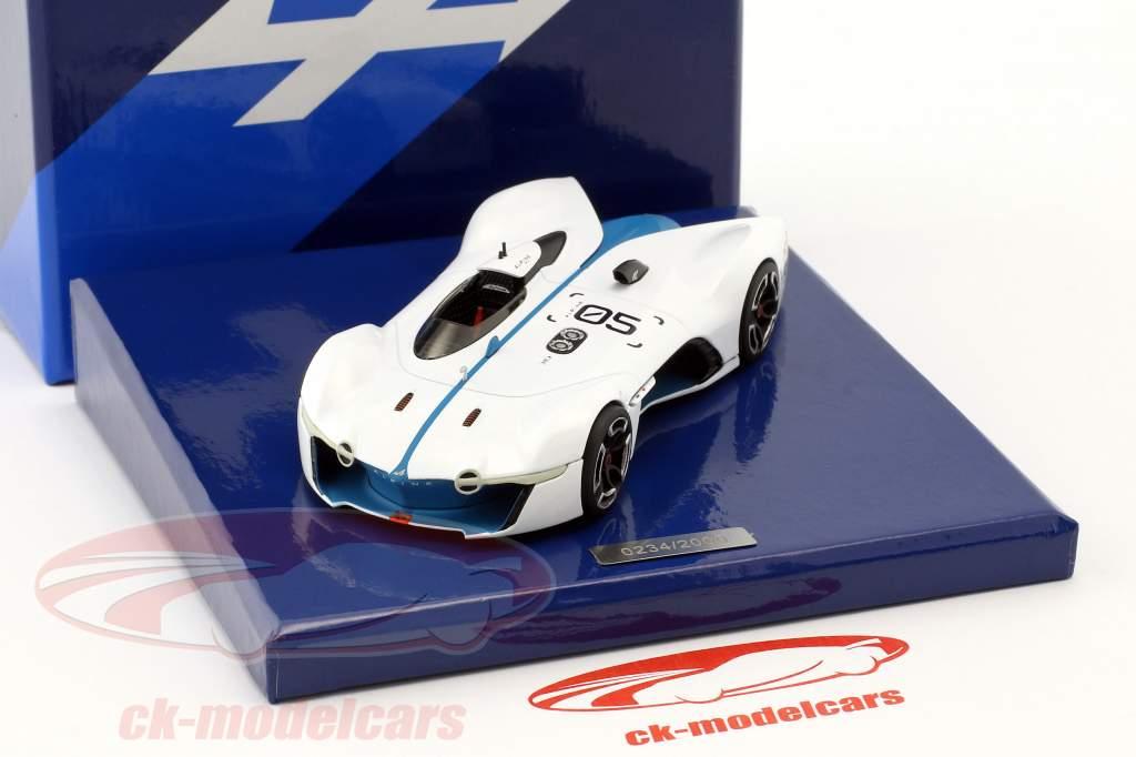 Alpine Vision Gran Turismo wit / blauw 1:43 Norev
