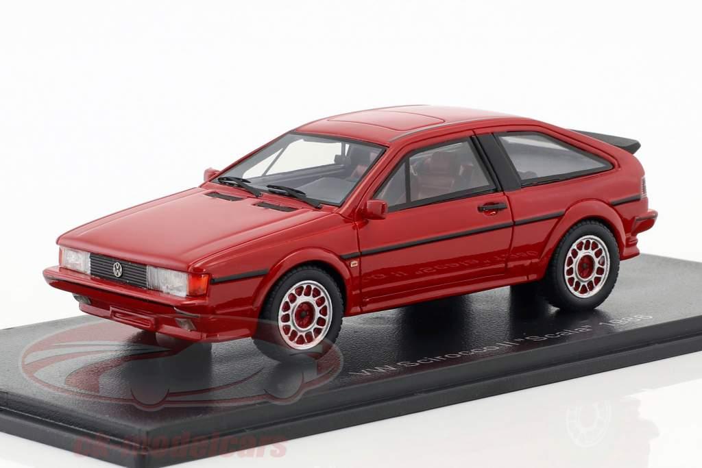 Volkswagen VW Scirocco II Scala Opførselsår 1986 red 1:43 Neo