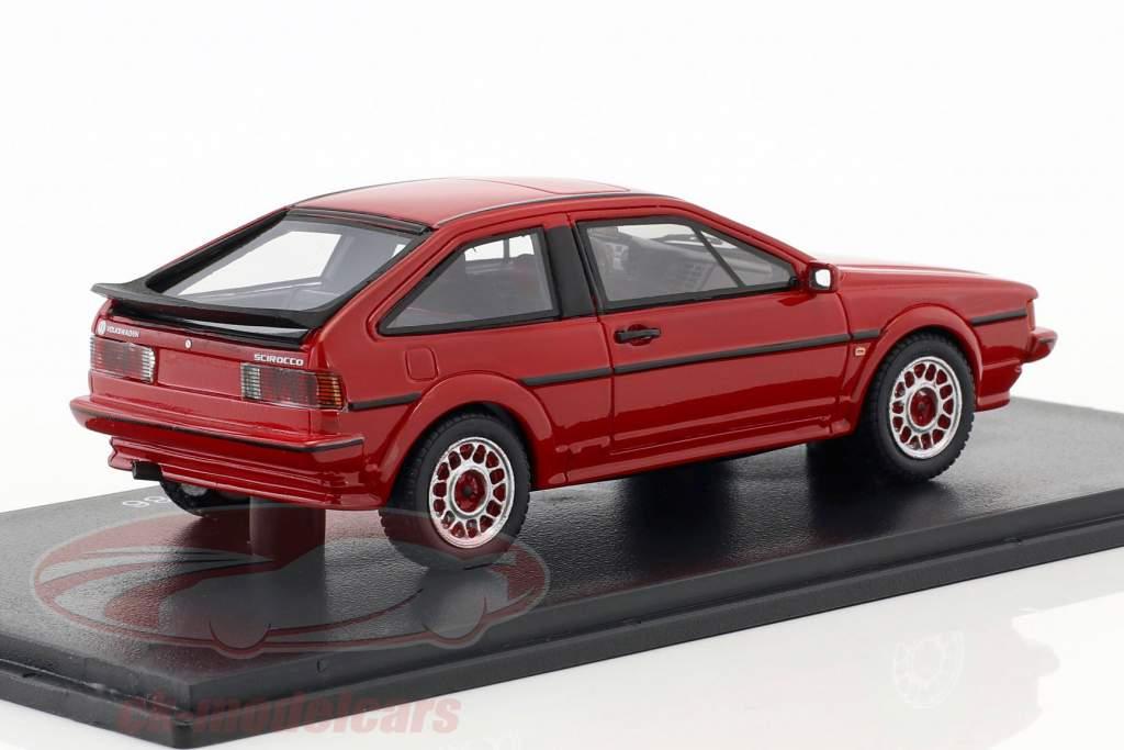 Volkswagen VW Scirocco II Scala Bouwjaar 1986 rood 1:43 Neo