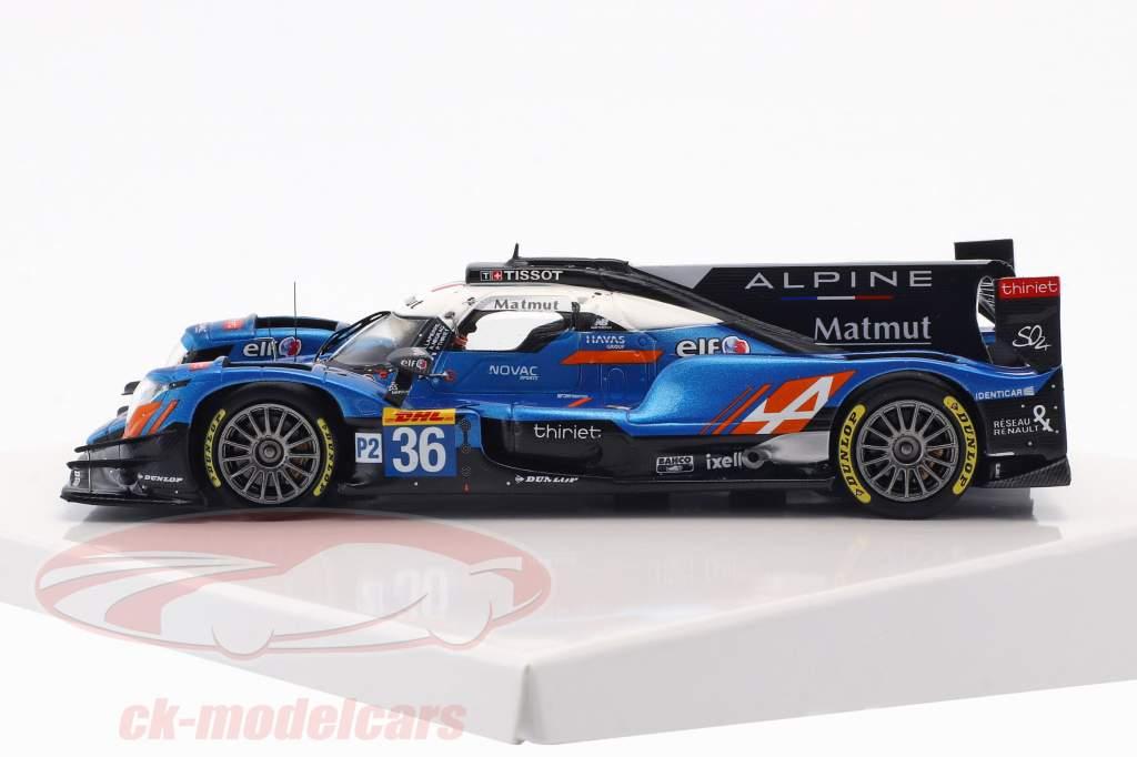 Alpine A470 #36 gagnant catégorie LMP2 24h LeMans 2018 1:43 Spark