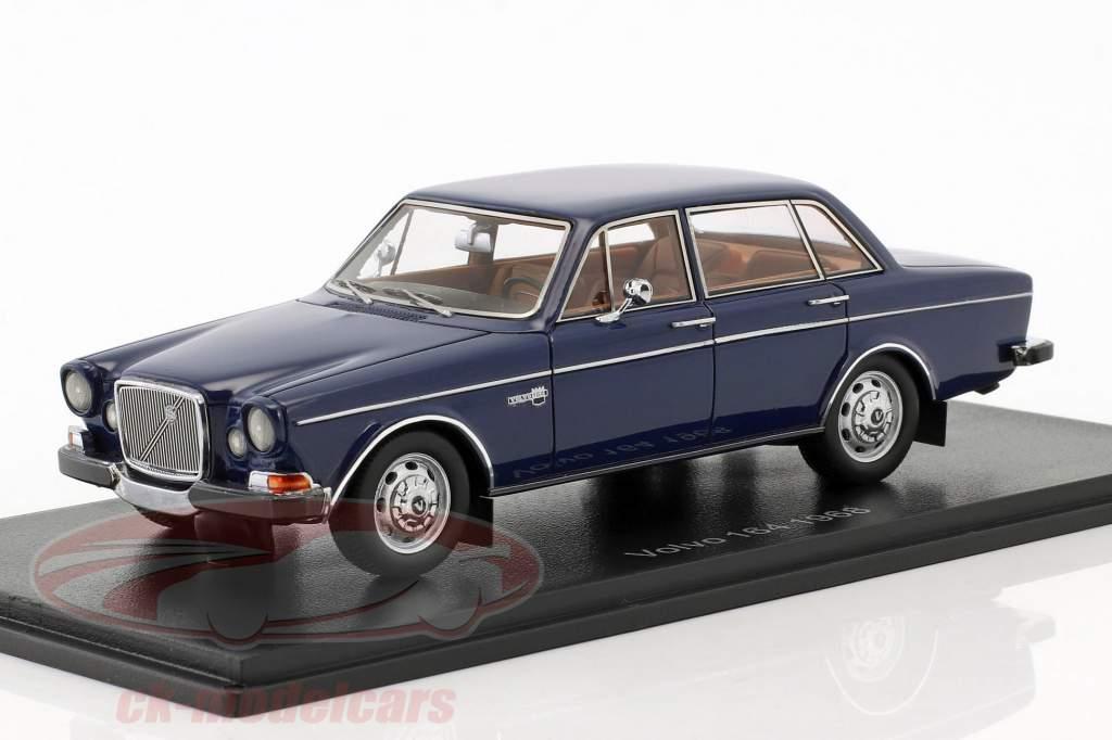 Volvo 164 Bouwjaar 1968 donker blauw 1:43 Neo
