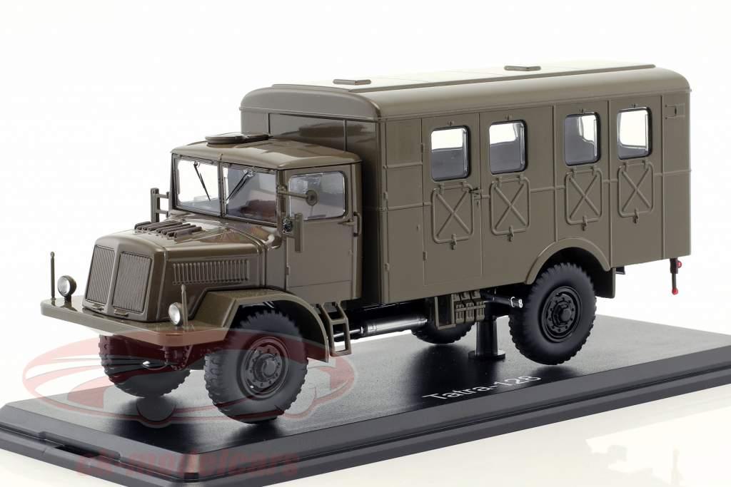 Tatra 128 van ano de construção 1951 esteira oliva 1:43 Premium ClassiXXs