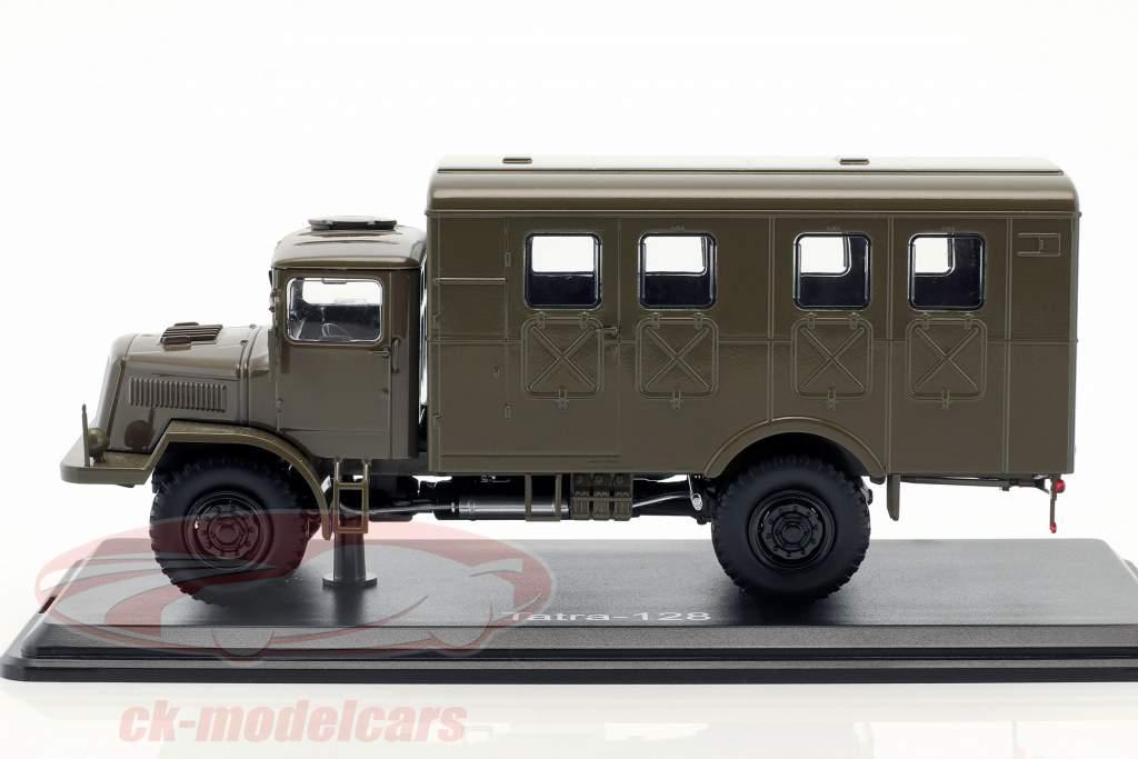 Tatra 128 Van year 1951 mat olive 1:43 Premium ClassiXXs