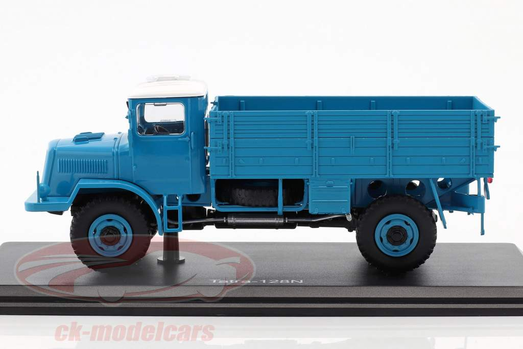 Tatra 128N vrachtwagen Bouwjaar 1951 blauw / wit 1:43 Premium ClassiXXs